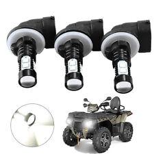 3PCS 150W 3600LM Headlight LED Bulbs For Polaris Sportsman850 800 700 500 6000K