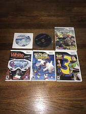 Nintendo Wii Game Bundle E Ratings Rayman, Racing, Toy Story 3 Tested L02