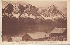 Tarjeta Postal. 25109C-Chamonix-Chalet de la Charlannoz et Aiguille de Chamonix.