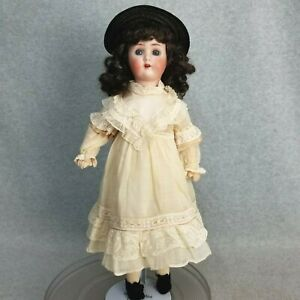 "19"" antique bisque head German Alt Beck & Gottschalk  ABG Sweet Nell Doll ""TLC"""