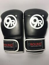 9 Round 30 Min Kickbox Fitness - Kickboxing Gloves - Black - 10oz