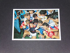 N°83 FINALE COUPE 1989 OLYMPIQUE MARSEILLE OM FOOTBALL PANINI 1899-1999 100 ANS