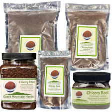 Chicory Root Roasted Granules - No caffeine coffee alternative. 8oz to 2 lb bag
