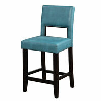 Modern Counter Height Bar Stool Padded Cushioned Pub Chair Kitchen Furniture New