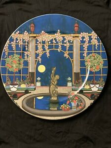 "VILLEROY & BOCH Jardins Francais 12"" Platter Charger No 3 Porcelain"