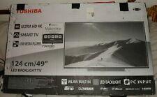 Toshiba 49U5766DB 49 Inch 4k Ultra HD Smart LED WLAN TV With Freeview Play