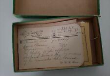 Lot Antique 1880's Doctors Written Prescriptions Pharmacy Drugstore
