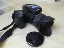 Sony Cyber-shot DSC-R1 10.3MP Digital Camera - Black+ HOOD + CHARGER + BATTERY