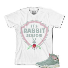 Tee to match Air Jordan Retro 7 2.0 Rabbit Season Tee