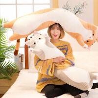 Cute Plush Cats Doll Soft Stuffed Kitten Pillow Doll Toy Gift for Kid Girlfriend