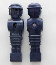 Kickerfigur Spieler Kicker Figur für 16mm Stange Tischfussballspieler blau 11 St
