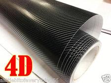 4D Carbon Fiber Vinyl Wrap roll 12