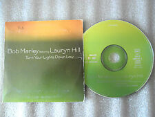 CD-BOB MARLEY FEAT.LAURYN HILL-TURN YOUR LIGHTS DOWN LOW-(CD SINGLE)1999-2TRACK