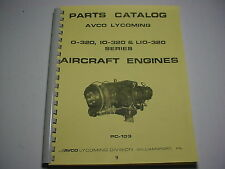 LYCOMING ENGINES  0-320, IO-320 & LIO-320 PARTS CATALOG -9