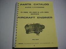 LYCOMING ENGINES  0-320, IO-320 & LIO-320 PARTS CATALOG -9