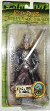 Toy Biz Lotr Lord Of The Rings King /Roi Elendel Fellowship Moc W/Case