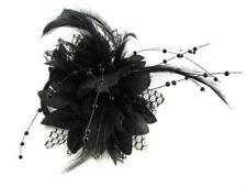 Accessoires de coiffure barrettes et épingles à cheveux noirs pour femme