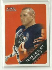 2000 Fleer Tradition BRIAN URLACHER Rookie CHICAGO BEARS Rc #309 Hall Of Fame