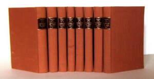 PROUST Marcel. A la recherche du temps perdu. 1949 8 volumes reliés