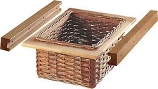 Wicker Basket and Runner Set for 500mm Width Cabinet