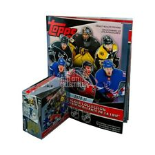 2020-21 Topps NHL Hockey Sticker Collection 50ct Box with Album
