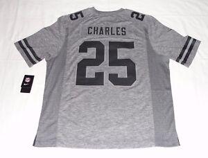 Nike Men's Jamaal Charles Kansas City Chiefs Football Gridiron Jersey NEW 2XL