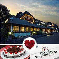 2 Tage Romantik Kurzurlaub Schwarzwald Hotel Waldachtal Wellness 6 Gang Dinner