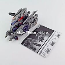 Transformers Movie DOTM Voyager Class Shockwave Streetside Bot Brawl TRU Excl.