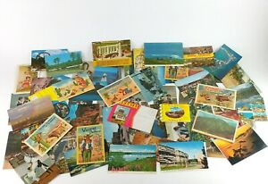 Lot Postcards Mixed Real Photo Western Puzzle Comedy Happy Easter New Year J1