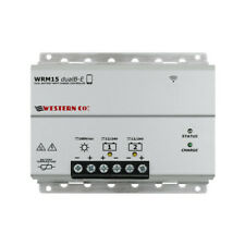 Solar Charge Controller MPPT Western WRM15 Dualb-E with Bluetooth for RVs, boats