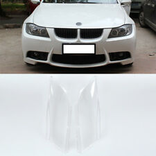 Headlight Lens Plastic Shell Cover For BMW E90 Sedan E91 2004-2007 Replacement