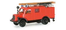 ROCO MINITANKS H0 4003 - FIRE TRUCK MERCEDES LF8