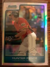 HUNTER PENCE 2006 Bowman Chrome Refractor #FG18. Futures Game. Super Rare !!!!