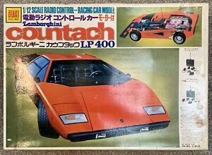 Vintage 1/12 R/C Tamiya Lamborghini Countach Otaki Doyusha Porsche 934 935 959