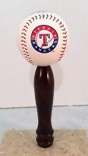 Texas Rangers KEGERATOR BEER TAP HANDLE MLB Pub Style Baseball Cherry