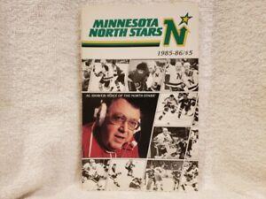 VINTAGE Minnesota North Stars 1985-86 Press Media Guide, Neal Broten, NMMT!