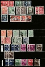 LITHUANIA LIETUVA USED/MLH STAMPS LOT ON PAGE (04)