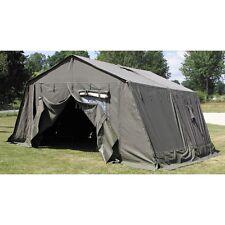 Tente Francaise F1, 5,6 x 4,2 metres avec accessoires original militaire
