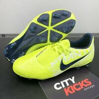 New Nike JR Phantom Venom Elite FG Soccer Cleats Volt Sz 5Y AO0401 717