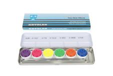 KRYOLAN AQUACOLOR PALETTE DAY GLOW 6 Color Palette 5177 NIB