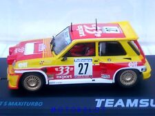 TEAM SLOT - PDV01012104 RENAULT 5 MAXITURBO -33-