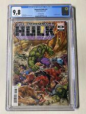 The Immortal Hulk #25 CGC 9.8 Lim Variant Marvel Comics Avengers Hulk