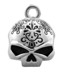 Harley-Davidson Day Of The Dead Silver Ride Bell HRB041