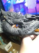 Wooden Oriental Dragon Carving