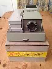 Vintage Wray London MOTH 35mm Slide Projector In Original Box