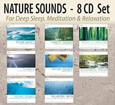 CURE FOR INSOMNIA: Nature Sounds for Insomnia -Sleep Music, Insomniac 8 CDs -NEW
