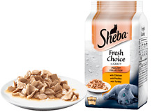 Sheba Fresh Choice Poultry Collection in Gravy 6 x 50g pouch