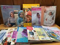 Lot of 11 Baby Knitting Quilting & Baby Afghans Books 💙