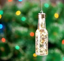 Christmas Tree Decorations LED Lights in a Bottle Xmas Keepsake Party Wedding