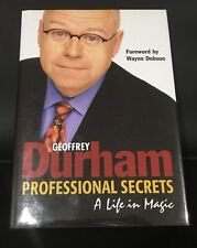 Professional Secrets by Geoffrey Durham OOP and extremely rare